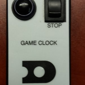 game clock handheld